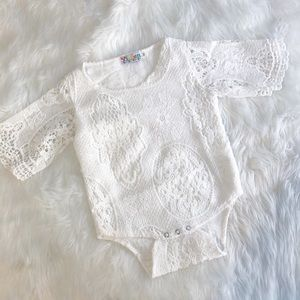 Completely Lace Onesie